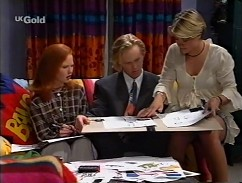 Ren Gottlieb, Kingston White, Danni Stark in Neighbours Episode 2358
