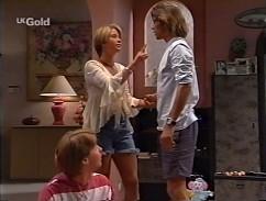 Brett Stark, Danni Stark, Malcolm Kennedy in Neighbours Episode 2358