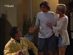 Mark Gottlieb, Malcolm Kennedy, Danni Stark in Neighbours Episode 2358