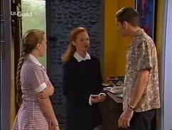Libby Kennedy, Ren Gottlieb, Luke Handley in Neighbours Episode 2358