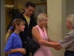 Hannah Martin, Mark Gottlieb, Lucy Robinson, Helen Daniels in Neighbours Episode 2359