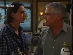 Darren Stark, Lou Carpenter in Neighbours Episode 2656