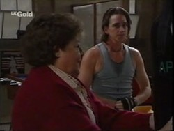 Marlene Kratz, Darren Stark in Neighbours Episode 2656