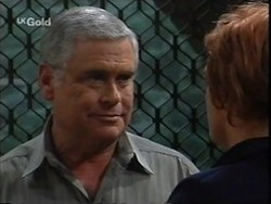 Lou Carpenter, Cheryl Stark in Neighbours Episode 2656