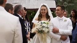 Karl Kennedy, Chloe Brennan, Aaron Brennan in Neighbours Episode 8251