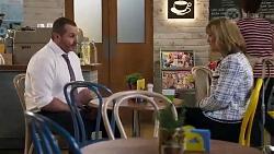 Toadie Rebecchi, Claudia Watkins in Neighbours Episode 8252