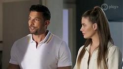 Pierce Greyson, Chloe Brennan in Neighbours Episode 8252