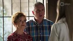Susan Kennedy, Karl Kennedy, Chloe Brennan in Neighbours Episode 8252