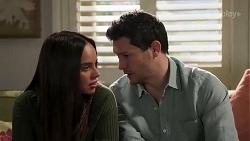 Bea Nilsson, Finn Kelly in Neighbours Episode 8252