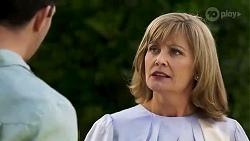 Finn Kelly, Claudia Watkins in Neighbours Episode 8252