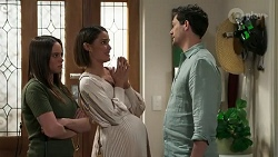 Bea Nilsson, Elly Conway, Finn Kelly in Neighbours Episode 8253