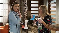 Amy Williams, Sheila Canning in Neighbours Episode 8254