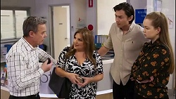 Paul Robinson, Terese Willis, Leo Tanaka, Harlow Robinson in Neighbours Episode 8254