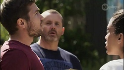 Ned Willis, Toadie Rebecchi, Yashvi Rebecchi in Neighbours Episode 8254
