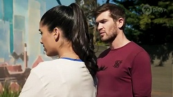 Yashvi Rebecchi, Ned Willis in Neighbours Episode 8255