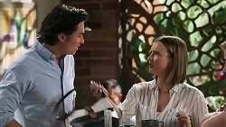 Leo Tanaka, Amy Williams in Neighbours Episode 8255