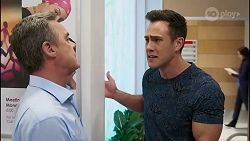 Paul Robinson, Aaron Brennan in Neighbours Episode 8256