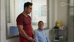 Aaron Brennan, Paul Robinson in Neighbours Episode 8256
