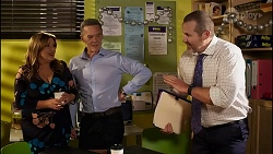 Terese Willis, Paul Robinson, Toadie Rebecchi in Neighbours Episode 8257