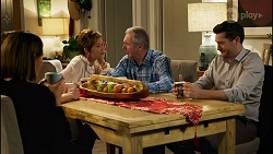Elly Conway, Susan Kennedy, Karl Kennedy, Bea Nilsson in Neighbours Episode 8257