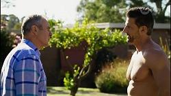 Karl Kennedy, Pierce Greyson in Neighbours Episode 8257