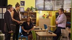 Paul Robinson, Chloe Brennan, Terese Willis, Toadie Rebecchi in Neighbours Episode 8257