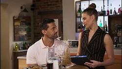 Pierce Greyson, Chloe Brennan in Neighbours Episode 8257
