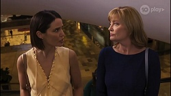 Elly Conway, Claudia Watkins in Neighbours Episode 8257