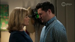 Claudia Watkins, Finn Kelly in Neighbours Episode 8258