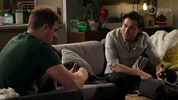 Kyle Canning, Leo Tanaka in Neighbours Episode 8259