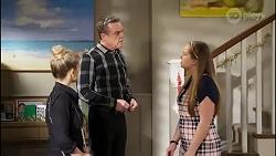 Roxy Willis, Paul Robinson, Harlow Robinson in Neighbours Episode 8260