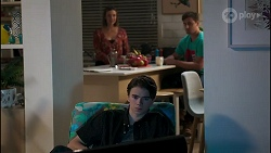 Amy Williams, Jimmy Williams, Kyle Canning in Neighbours Episode 8260
