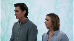 Leo Tanaka, Amy Williams in Neighbours Episode 8261