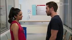 Yashvi Rebecchi, Ned Willis in Neighbours Episode 8261