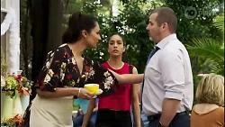 Dipi Rebecchi, Yashvi Rebecchi, Toadie Rebecchi in Neighbours Episode 8261