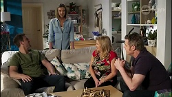 Kyle Canning, Amy Williams, Sheila Canning, Gary Canning in Neighbours Episode 8261