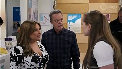Terese Willis, Paul Robinson, Harlow Robinson in Neighbours Episode 8261