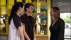 Maya Preston, Jimmy Williams, Amy Williams in Neighbours Episode 8262