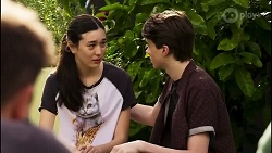 Kyle Canning, Maya Preston, Jimmy Williams in Neighbours Episode 8262