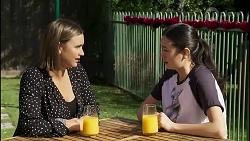 Amy Williams, Maya Preston in Neighbours Episode 8262