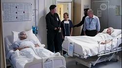 David Tanaka, Hayden Partridge, Dr Emma Bursill, Karl Kennedy, Robert Robinson in Neighbours Episode 8262
