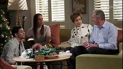 Finn Kelly, Bea Nilsson, Susan Kennedy, Karl Kennedy in Neighbours Episode 8263