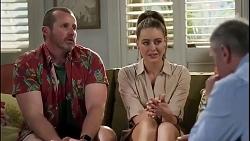 Toadie Rebecchi, Chloe Brennan, Karl Kennedy in Neighbours Episode 8263