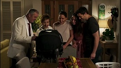 Karl Kennedy, Susan Kennedy, Elly Conway, Bea Nilsson, Finn Kelly in Neighbours Episode 8264