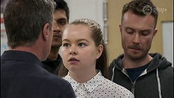 Paul Robinson, Harlow Robinson, Robert Robinson in Neighbours Episode 8264