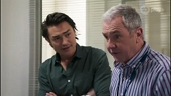 Leo Tanaka, Karl Kennedy in Neighbours Episode 8264