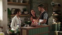 Susan Kennedy, Bea Nilsson, Hendrix Greyson in Neighbours Episode 8265