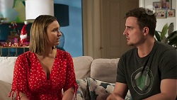 Amy Williams, Kyle Canning in Neighbours Episode 8265