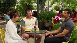 Susan Kennedy, Toadie Rebecchi, Pierce Greyson in Neighbours Episode 8265