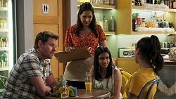 Shane Rebecchi, Dipi Rebecchi, Kirsha Rebecchi, Yashvi Rebecchi in Neighbours Episode 8266